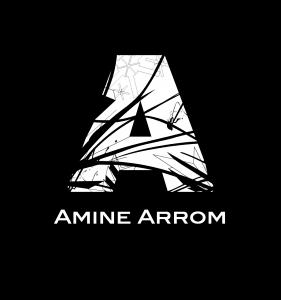 Logo amine arrom